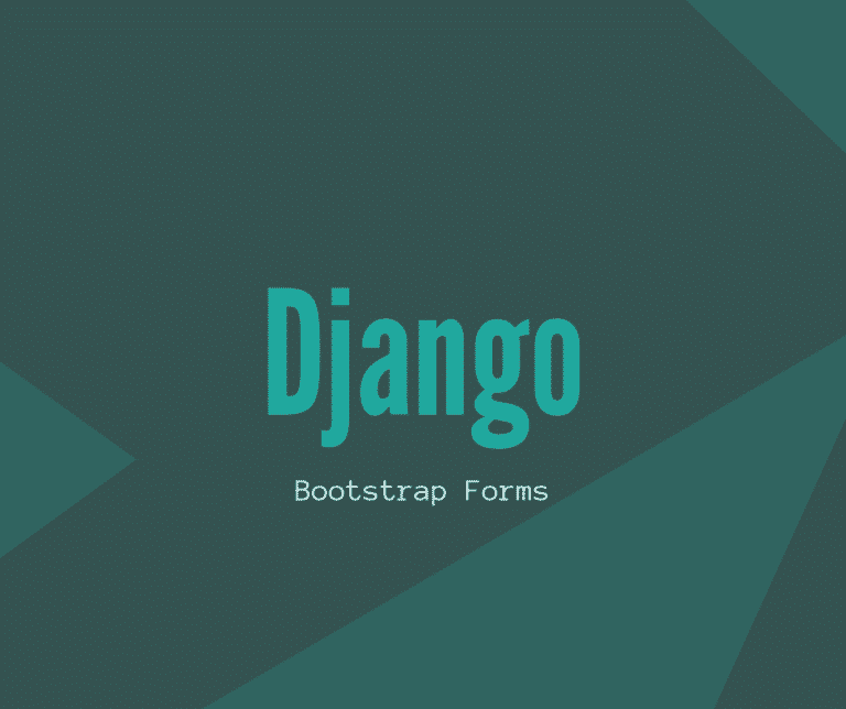 django bootstrap forms cover