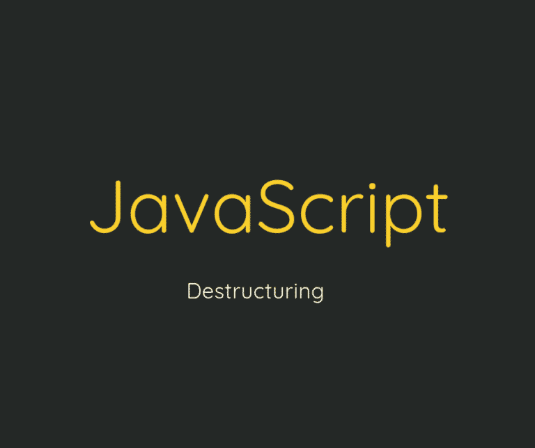 destructuring es6 capa