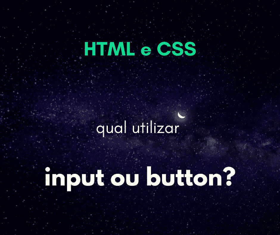 qual usar input submit ou button submit html form capa
